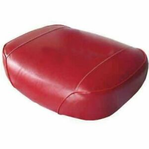 Seat Cushion Vinyl Red Oliver 1755 1655 1850 1855 1750 White Minneapolis Moline