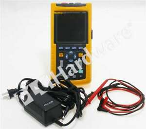 Fluke 123 Industrial Scopemeter 20 Mhz Oscilloscope Multimeter
