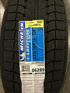 2 New 235 70 16 Michelin Latitude X Ice Xi2 Snow Tires