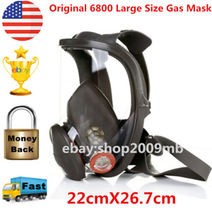 Us Original 6800 Large Size Respirator Gas Mask Painting Spraying Facepiece