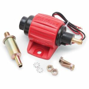Edelbrock 17303 Micro Electric Fuel Pump Universal Application Gasoline E85 30 G