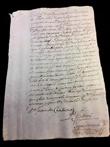 Letter From Malaga Spain 1791