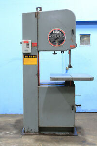 20 Thrt 13 H Doall 2013 v Vertical Band Saw Vari speed 3 Hp 1 Blade