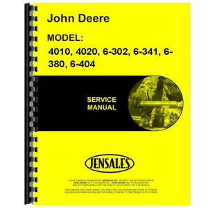 Service Manual For John Deere 6 302 Tractor Jd s sm2039
