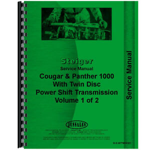 Steiger Cougar Tractor Service Manual