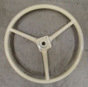 Creme Steering Wheel For Allis Chalmers Tractor D10 D12 D14 D15 D17 D19 D21