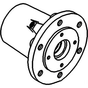 102718a Wheel Hub For Oliver 550 66 660 Tractors