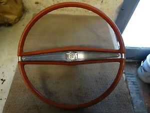 1963 Buick Riviera Electra 225 Lesabre Wildcat Invicta Red Steering Wheel