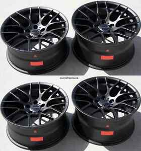 18 Avant Garde M359 Black Wheels Rims For Bmw F30 320i 328i 335i Rims Set 4