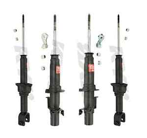 Kyb 4 Shocks Honda Civic Crx 1989 89 90 To 91 1991 341135 341136 341094