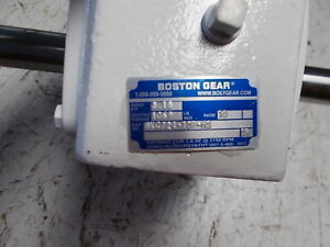 Boston Gear Bkc724 10p hs Washdown Worm Speed Reducer New Take Off