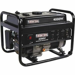 Ironton Portable Generator 4000 Surge Watts 3200 Rated Watts