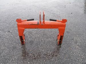 Nice Speeco Catergory 1 3 Point Hitch Quick Hitch