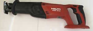Hilti Wsr 18 a Reciprocating Saw Just Tool