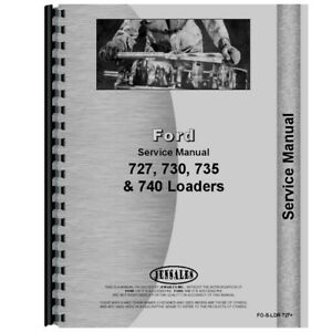 New Ford 4500 Loader Service Manual