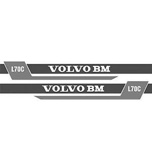 Ns new Style Decal Set Made To Fit Volvo Bm Wheel Loader L70c