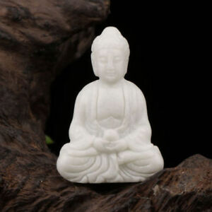 6jade Hand Carved The Statue Of Buddha Delicate Statue