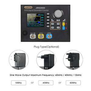 Dual Channel Dds Digital Signal Generator Counter Frequency Arbitrary Waveform