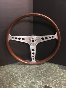 Vintage Wasall Les Leston Steering Wheel Grand Prix Mg