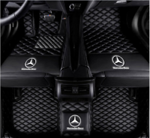 Car Floor Mats All Mercedes Benz Cla180 Cla200 Cla250 Cla45 Amg Knitting Logo