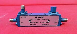 Krytar 2616 Hp 0955 0125 1 7 To 26 5 Ghz Directional Coupler 3 5mm f f f