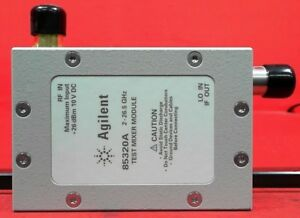 Hp Agilent Keysight 85320a Test Mixer Module 300 Mhz To 3 Ghz 1 To 26 5 Ghz