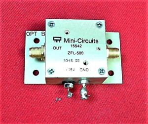 Mini circuits Zfl 500 Amplifier