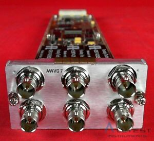 Tektronix Awvg7 Analog Wideband Video Generator For Tg700