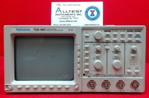 Tektronix Tds460 Oscilloscope 350 Mhz 4 Channel With Opt 1m 05