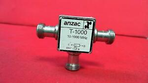 Anzac T 1000 Two way Power Divider 10 1000 Mhz