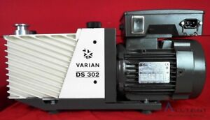 Varian cpi Ds 302 Dual Stage Rotary Vane Vacuum Pump