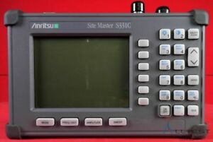 Anritsu S331c Sitemaster 25mhz To 3300mhz Cable Antenna Analyzer