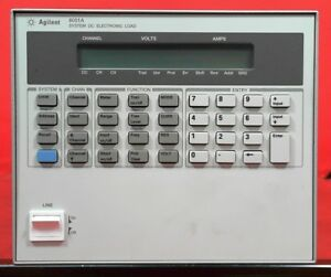 Hp Agilent Keysight 6051a Dc Electronic Load Mainframe 600 Watts