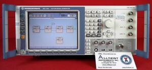 Rohde Schwarz Smj100a Vector Signal Generator 100 Khz To 3 Ghz With Options