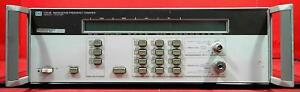 Hp Agilent Keysight 5352b Microwave Frequency Counter S n 2826a00295