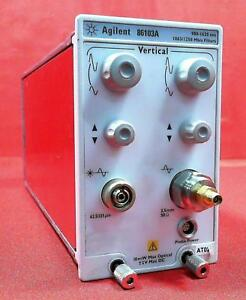 Agilent 86103a 20ghz Electrical 2 8ghz Optical Plug in Module option 202