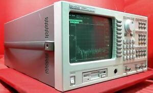 Hp agilent 35665a Dynamic Signal Analyzer Dual Channel Dc 102 4 Khz opts 1c2 Ana