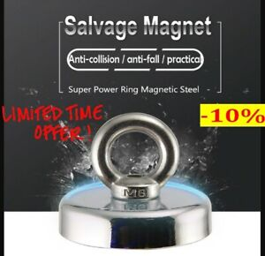 Magnetic Salvage Ring Deep Sea Fishing Magnet Super Powerful Special Offer