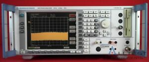 Rohde Schwarz Fsu8 b16 k5 Spectrum Analyzer 20 Hz To 8 Ghz Calibrated 0111