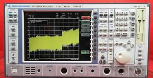 Rohde Schwarz Fsek20 Spectrum Analyzer 9 Khz To 40 Ghz 836043004