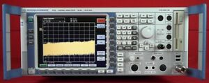 Rohde Schwarz Fsq26 Spectrum Analyzer 20 Hz To 26 5 Ghz 200659 W Options