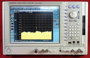 Advantest R3681 72 73 Spectrum Analyzer With Modulation Analyzer And Generator