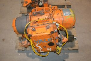 Yale Cable King Model 201p 1 Ton Electric Hoist With Manual Trolley