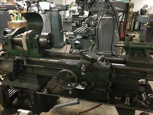 16 X 34 South Bend Engine Lathe With Taper 3 jaw Face Plate 2 Hp