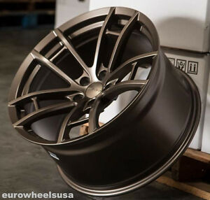 20 M392 20x9 5 20x11 Bronze Wheels For 2017 Dodge Charger Scatpack rims Set 4