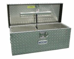 Tool Box Truck Trailer Atv Storage 20 Long 12 Wide Aluminum Diamond Plate