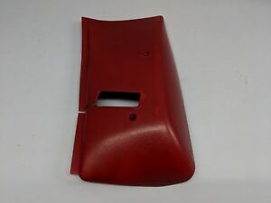 1974 1981 F Body Firebird Left Driver Side Roof Retractor Seat Belt Cover Red