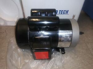 3 Hp 220 V Single Phase 3450 Rpm Tefc New Electric Motor