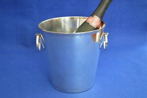 French Art Deco Style Champagne Bucket Ice Wine Cooler Mid Century