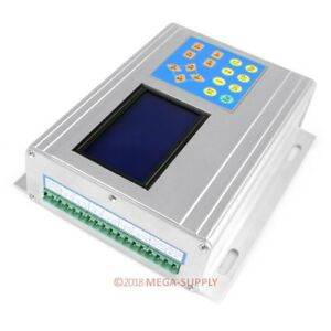 3axis Cnc Stepping Driver Tb6600hg Box Set Lcd Display Handle Controller 0 2 5a